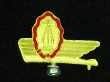 Vintage BSA  Bicycle or Mopet front mudguard Emblem Badge Bike GOLD NOS 1950s