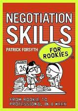 Negotiation Skills for Rookies, Patrick Forsyth, New Book