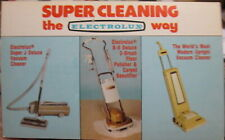 c1960s Electrolux Vacuum Cleaners advertising postcard