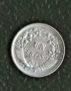 PERU 1 CENTS 1960