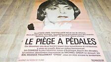 LE PIEGE A PEDALES les p.d gay  !  affiche cinema 1972