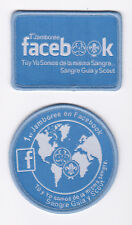 1st Jamboree on FACEBOOK (FB) Scouts & Girl Guides (GG) SPANISH version Patch