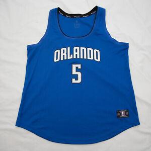 FANATICS Orlando Magic Womens Size XL Mo BAMBA 5 Tank Top Blue Logo NBA top