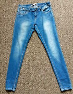 Superdry CASSIE SKINNY  W30  L32  Blue Jeans Zip Closure Tall