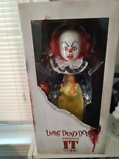 "Mezco Living Dead Dolls 12"" It Clown Figure"
