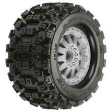Badlands MX28 2.8 MTD F-11 Gray Wheels Elect Mounted Proline Racing 10125-26