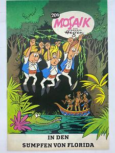 Hannes Hegen Mosaik 209 Export Ausgabe auf Normalpapier, Sammlerheft