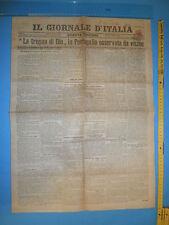 WW1 @ 07/02/1908 IL GIORNALE D'ITALIA La tregua di Dio in Portogallo 335