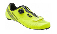 LOUIS GARNEAU Carbon LS100 II Mens Road Bike Shoes BLACK YELLOW Euro 43 $219.99