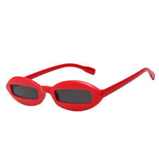 Mens Women Fashion Oval Sunglasses Cool Small Frame Eyewear Glasses Vintage