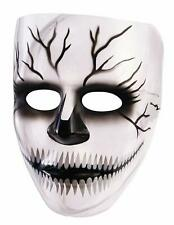 Transparent Skull Mask Skeleton Clear Fancy Dress Halloween Costume Accessory