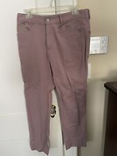 outlier slim dungarees 31x29 Lilac