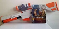 Cabelas Hunting Expeditions Game & Top Shot Elite Gun Nintendo Wii or Wii U