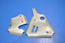2001 00-01 YZ125 YZ250 WORKS CONNECTION FRAME SIDE BRAKE PLATES GUARDS SHIELDS