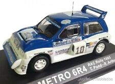 1/43 MG METRO 6R4 POND RAC RALLY 1985  IXO ALTAYA DIECAST