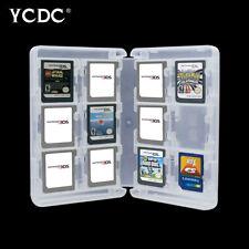 Portátil 28 en 1 Juego Organizador Caja de almacenamiento Caso de tarjeta SD para Nintendo 3DS/DS E7