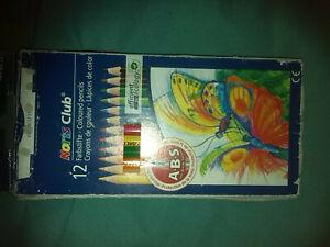 Pencils - 12 Set Of Colors - Noris Club Brand & Styles