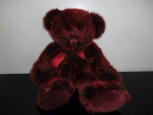 Russ ROMANOFF Red Bear 13 inch Soft Plush 4596 9801