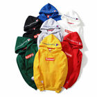 New Supreme Champion Box LogoHip Hop coats Embroidered Cotton Sweater Hoodies
