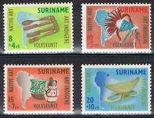 Suriname postfris 1960 MNH 336-339 - Inheemse Volkskunst