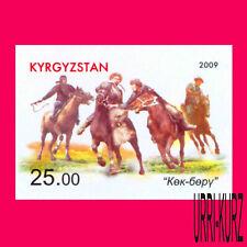 KYRGYZSTAN 2009 National Traditional Equestrian Sport Games Horse-Men Imperf.1v