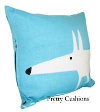 Scion Mr Fox Marine Blue Cushion Cover 12''