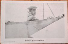 Morane, Monoplan/Airplane Bleriot 1910 French Aviation Postcard - Pioneer-Era