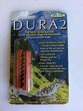 Kool Stop Dura2 Road Bike Brake Pads Shoes WET All Weather SRAM/Shimano SALMON