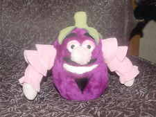 """7"""" Disney Mr. Eggplant Plush Toy From Epcot's Kitchen Kabaret From 1982 Rare"""