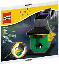 2 LEGO WITCH HEAD Set 40032 sealed polybag Halloween promo creator 6+ 71 pcs