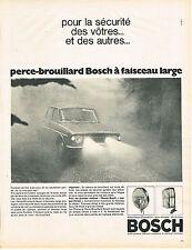 PUBLICITE ADVERTISING 024   1968   BOSCH     phares anti-brouillard