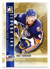 50ct Matt Donovan 2011-12 ITG Heroes & Prospects Hockey Update Rookie Lot #202