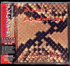 Andre Andersen Changing skin Japan CD w/obi royal hunt VICP-60503