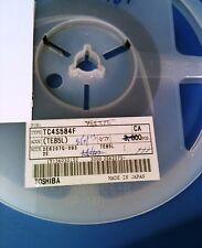 TC4S584F (TE85L) TOSHIBA INVERTER SCHMITT TRIGGER 1-ELEMENT CMOS 5 PIN SSOP 1ps