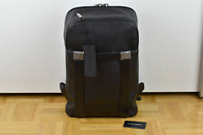 Porsche Design Shyrt 2.0 BackPack MVZ Leather Leder Business Rucksack Black