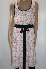 city chic Brand Baby Pink Floral Print Sleeveless Dress PLUS Size L BNWT #LIN