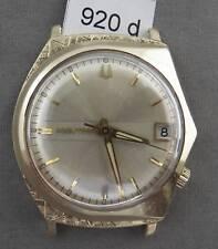 Bulova Accutron 218 Tuning Fork Men's Watch in HEAVY 14K Solid Gold Case!
