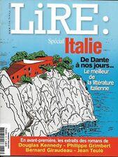 LIRE n°375 mai 2009  Spécial Italie de Dante à nos jours_Citati_Lapouge_Rousseau
