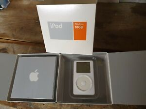 IPOD 10 GO 1ERE GENERATION EN BOITE EXCELLENT ETAT FONCTIONNEL WINDOWS