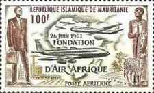 Timbre Aviation Mauritanie PA21 ** lot 21911