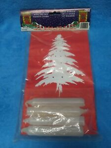 Luminaria Candle Bags Christmas candle bag kit. Vintage 4 pack new