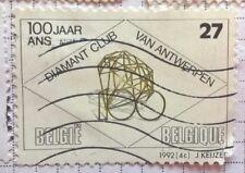 Belgium stamps - 100 Yaar Diamant Club Van Antwerpen - FREE P & P