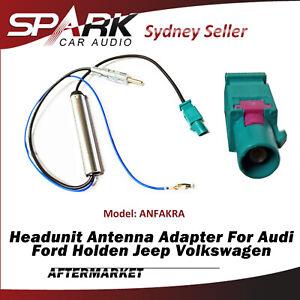 Antenna Adapter Radio Fakra For Porsche Cayenne Macan Panamera Skoda Octavia SP