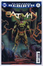 Batman #22C Lenticular Signed w/COA by Joshua Williamson 2017 VF/NM DC PWC