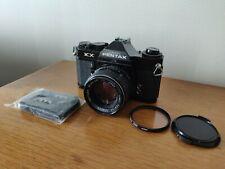 Asahi Pentax KX camera (Black) w/ K50 1.4 K mount lens