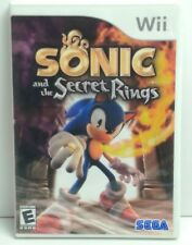 Sonic and the Secret Rings (Nintendo Wii, 2007) - Complete