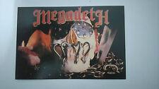 Megadeth Killing is my business vintage music postcard POST CARD