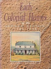Early Colonial Homes of the Sydney Region 1788-1838 BOOK History Australia NSW