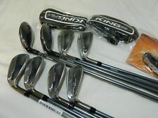 New LH Cobra F6 Combo Iron set 3h-GW Graphite Senior Irons 3/4h+4/5h6-PW+GW