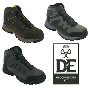 Hi-Tec Mens Walking Boots Bandera Lite Waterproof Lace Up Trail Hiking UK7-15